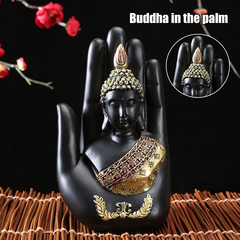 Statue Crafts Chinese Style Thai Style Zen Retro Zhongfo Home Furnishing Company Decorations Office Decoration DC120