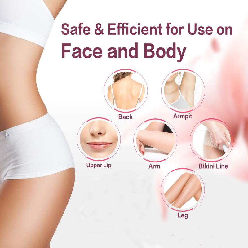 IPL Photon Hair Removal Device Freezing Point Integrated Laser 5-speed  Lcd Household Lip  Shaver AIFREE enlarge