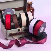25mm 10yards ribbon wedding party decoration polyester ribbon gift wrapping hair bows diy christmas ribbon