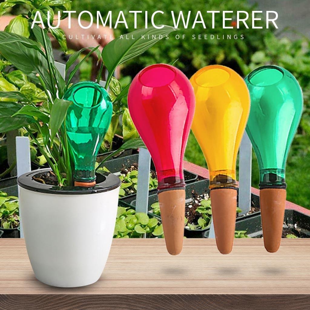 Dispositivo de riego automático, planta doméstica, Bombilla para maceta, casa de jardín, Waterer, triangulación de envíos