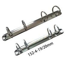4 anneaux 152 210 292mm pince à reliure argent or cuivre son