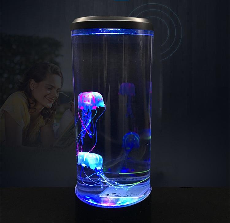 Круглая лампа Медуза-Питание от USB-лампа Медуза лава лампа настроения