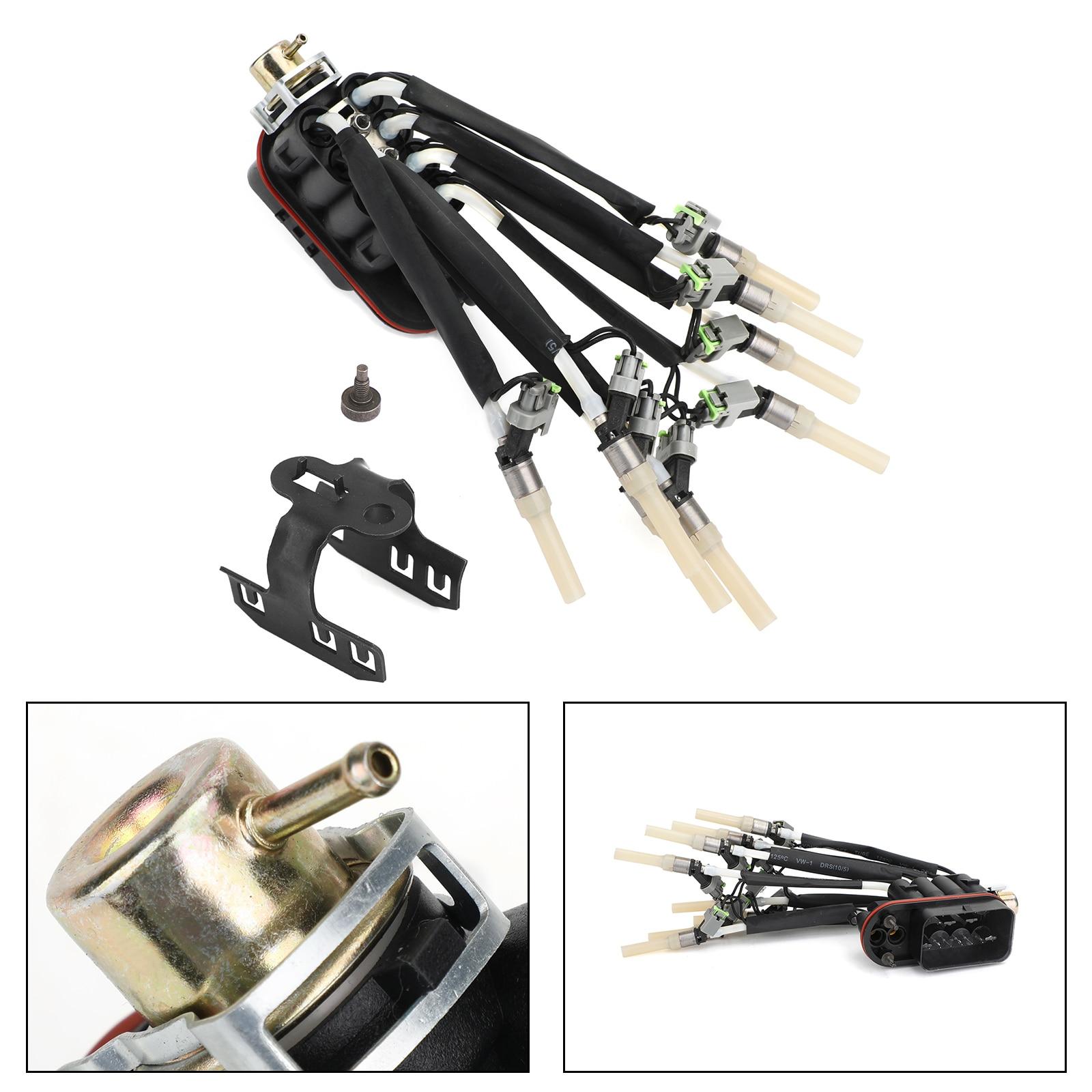 Areyourshpp новый топливный паук инжектор с кронштейном FJ504 Chevy Пикап V8 5.0L 5.7L 89060440 FJ10566 автомобильные аксессуары