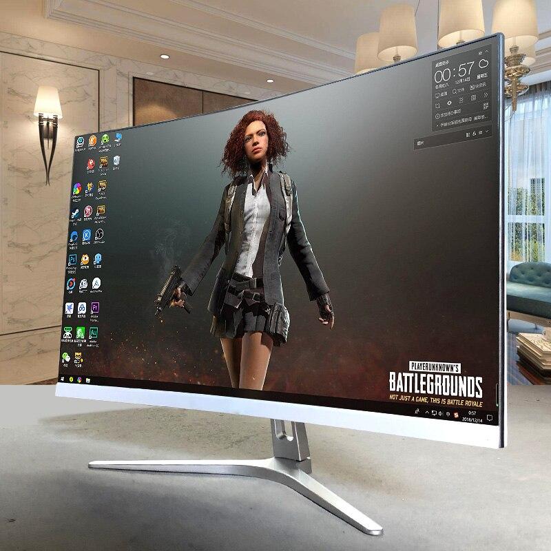 4K القرار 27 بوصة 144HZ 165 HZ uhd شاشات مجموعة الكمبيوتر سطح المكتب شاشة عرض ألعاب منحنية