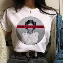 Les féministes Harajuku T-shirt Femmes Féminisme LRG PWR Ullzang T-shirt Fille Puissance 90s Graphique Tshirt Grunge Esthétique Top T-Shirts Femme