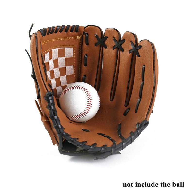 Guante de béisbol equipo de práctica de softbol mano izquierda para hombre adulto mujer tren equipo de deportes al aire libre