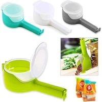 multifunctional food bag clips bag sealer food packaging fresh keeping sealing clip kitchen gadgets