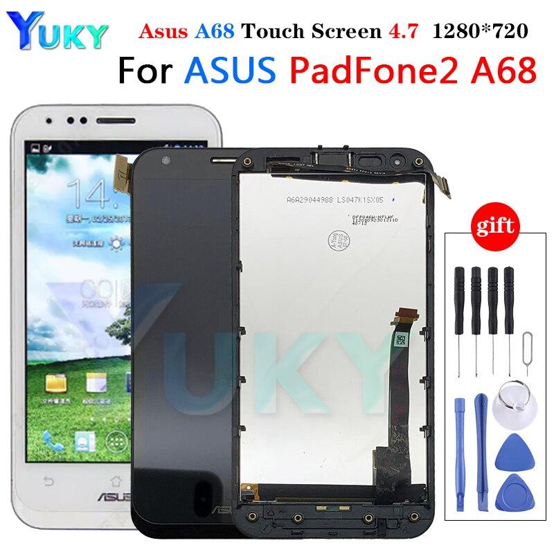 Pantalla LCD A68 + marco para ASUS PadFone 2 A68, montaje de...