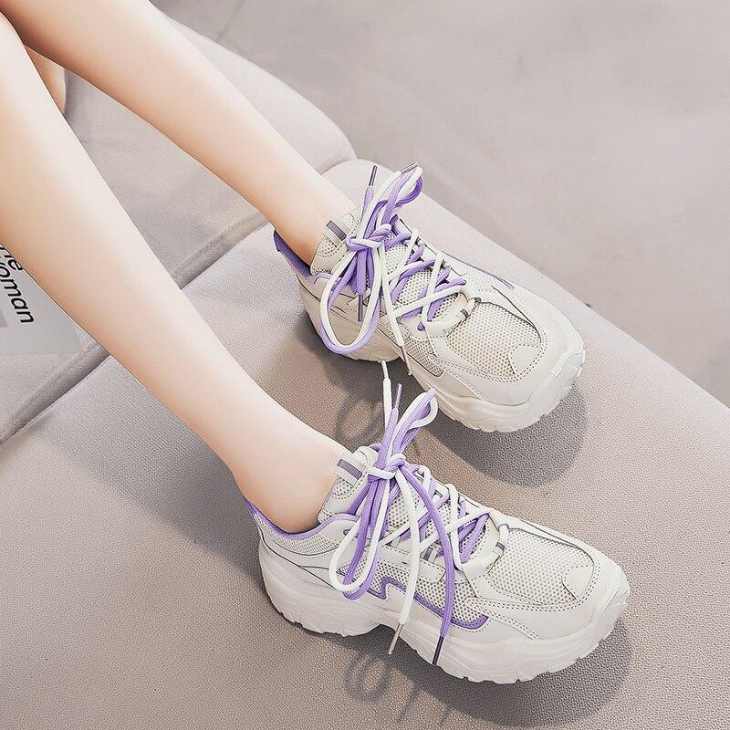 Women's Vulcanize Shoes Platform Chunky Sneakers, Sports Shoes,Casual High Sneaker Women Vulcanize S