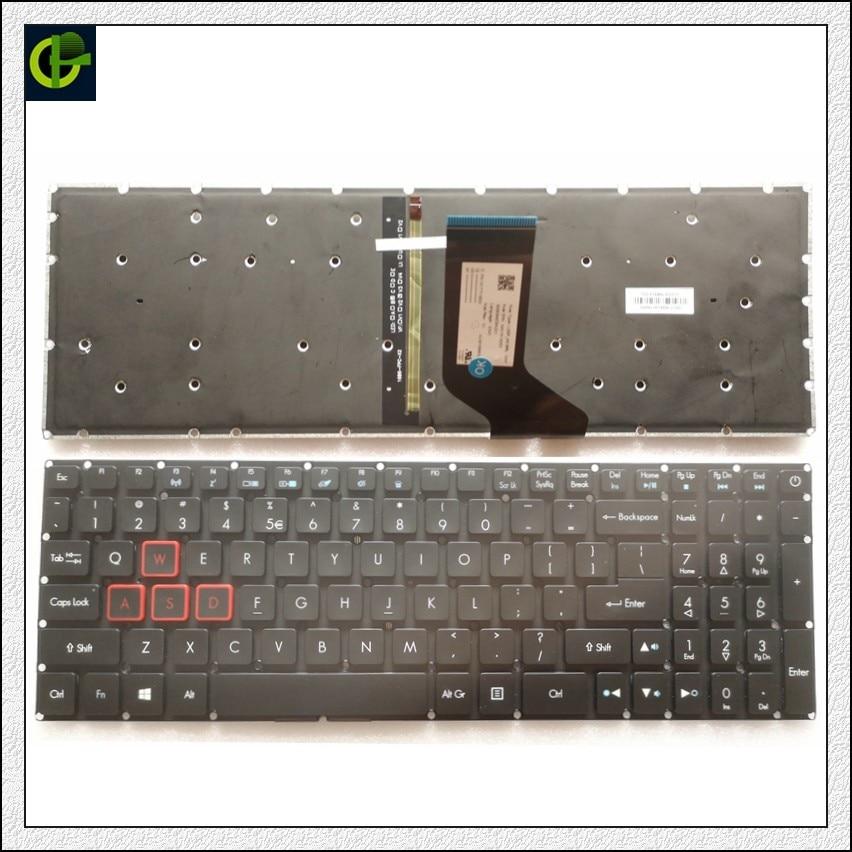 جديد الخلفية الإنجليزية لوحة المفاتيح لشركة أيسر المفترس هيليوس 300 N17C1 G571 PH317-51 NK.I1513.053 G3-571 G3-572 PH315-51 G3-572-72YF لنا
