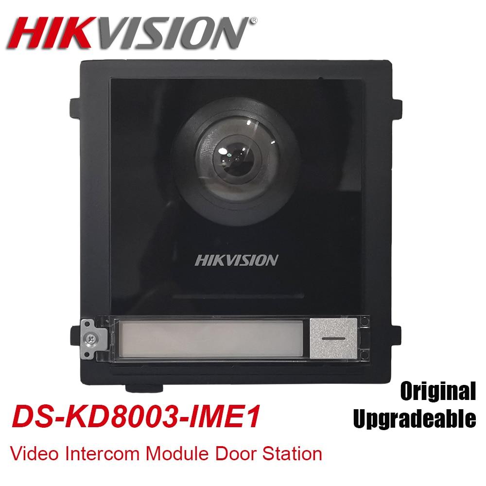 Original Hikvision 2MP HD DS-KD8003-IME1 POE Video Intercom Module Door Station Doorbell Door Phone