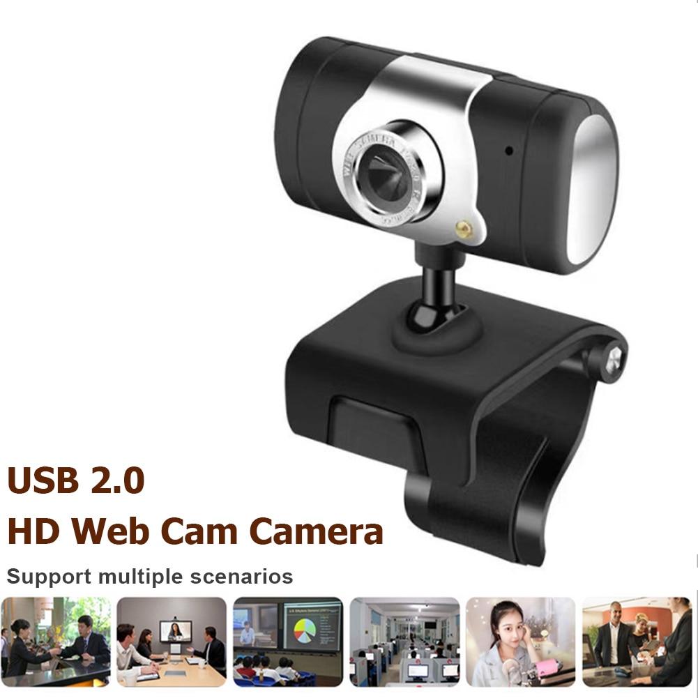 Alloet usb 2.0 のhdウェブカメラ 360 回転可能なクリップオンwebカメラオンライン教育/ライブ放送/ビデオ会議