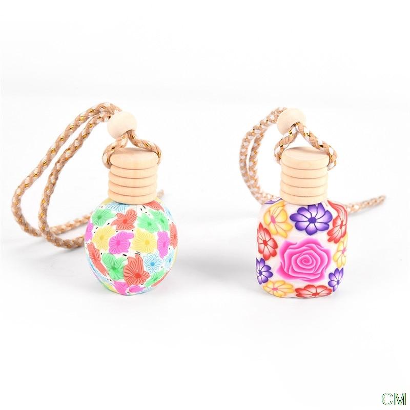 pottery perfume empty bottle  Hanging Car Air Freshener Hot sell 1pc Perfume Diffuser Fragrance Bottle
