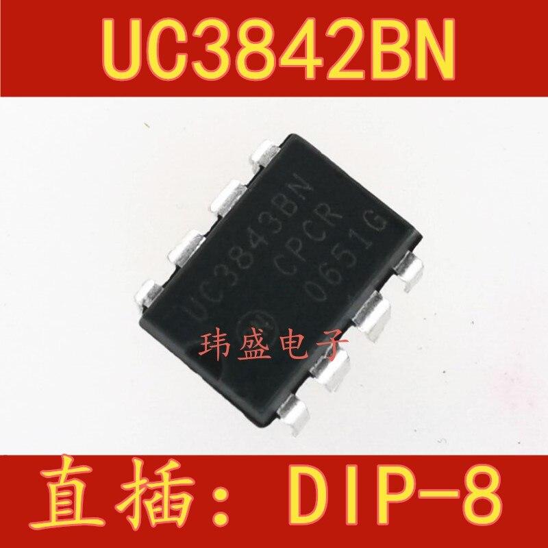 10pcs UC3843 UC3843BN DIP-8