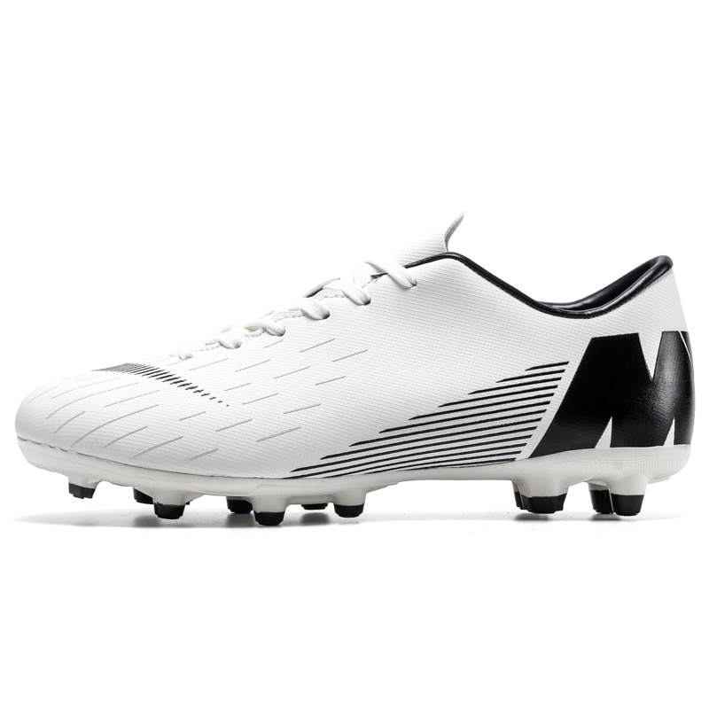 fires men s turf soccer shoes indoor plus size 45 cleats kids original superfly futsal football shoes sneakers chaussure de foot Indoor Superfly Breathable Chuteira Futebol Men Soccer Shoes Original Turf Boys Kids Football Boots Male Traning Futsal Sneakers