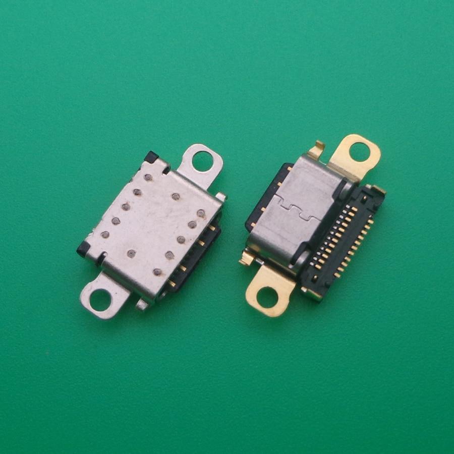 20 قطعة/الوحدة ل Xiaomi مي Pocophone F1 مي F1 USB ميناء تهمة جاك مقبس التوصيل شحن حوض موصل