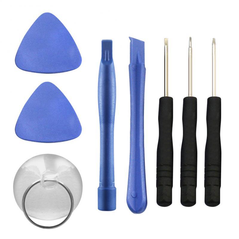 New 8Pcs/set 1 Mobile Phone Repair Tools Kit Screen Opening Tool Screwdriver Set For iPhone Cell Phone Repair Tool kit Dropship