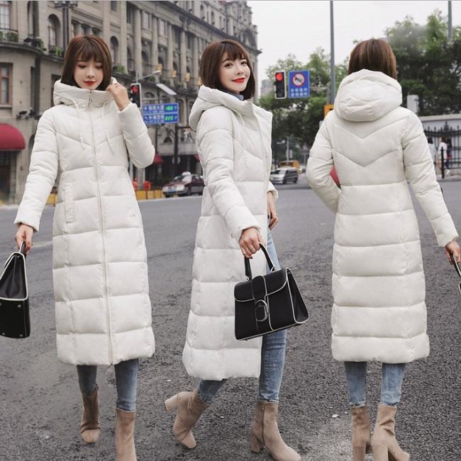 2020 plus tamanho 6xl inverno mulher para baixo algodão médio-longo jaqueta parka famale com capuz grande gola de pele de cintura larga casaco quente xnxee
