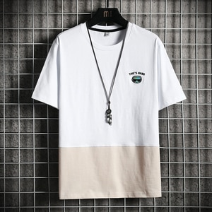 2021 Fashion T-shirt Men Funny Print Weekend Streatwear Summer Classic Tee Casual Short Sleeve O-neck Top Mens Basic Clothing