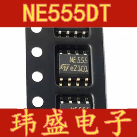 10pcs NE555 NE555DT SOP-8