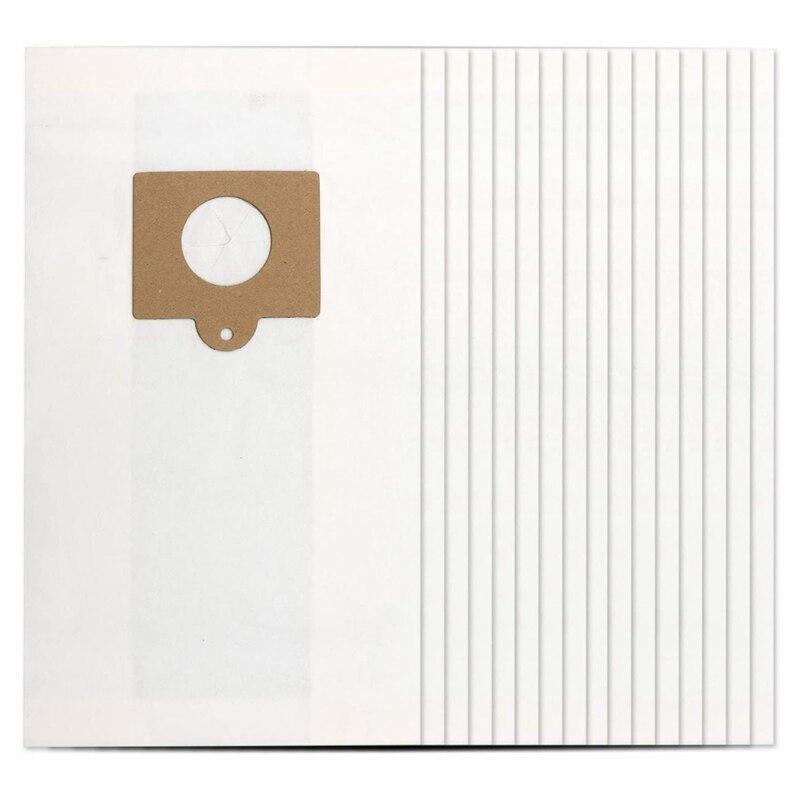 16-Pack Mini filtración Premium contenedor bolsas de vacío para Kenmore estilo C Q 5055, 50557, 50558, 50104 Panasonic C-5 C-18