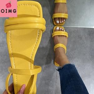 Sandals Women Flip-flops Summer Fashion Women Sandals 2021 Flat Shoes Adult Women Flat Casual Ladies Sandals Peep Toe Sandals