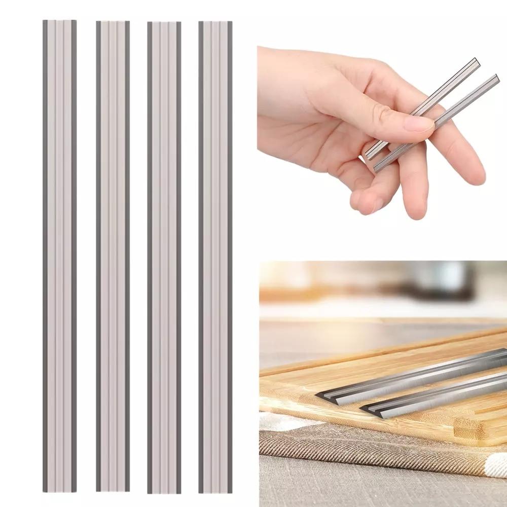 4 vnt. / Rinkinys 82 mm obliavimo peilių, skirtas Bosch PHO 25-82 / PHO 200 / PHO 16-82 / B34 HM karbido medienos obliavimo peiliukams