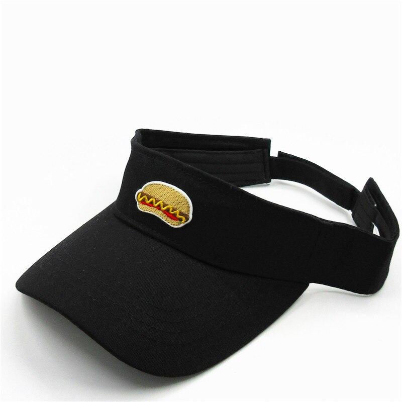 LDSLYJR Hot dog nourriture broderie visières casquette de Baseball réglable casquette pour hommes et femmes 112