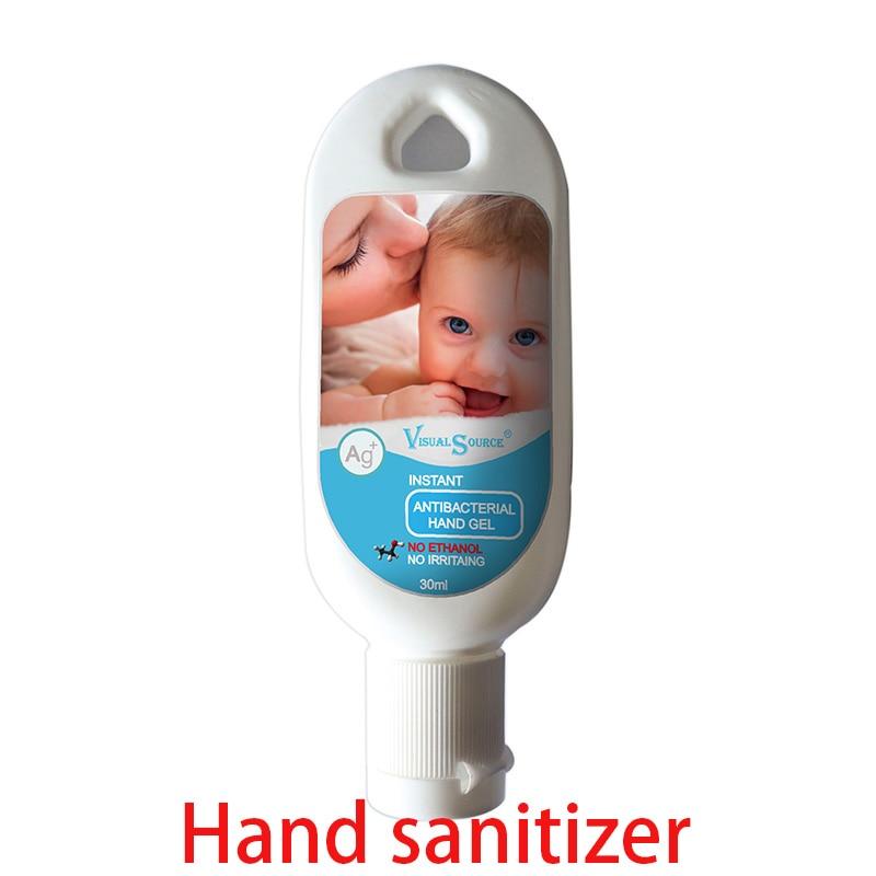 Desinfectante portátil para manos, espray antibacteriano, líquido hidratante sin agua desechable sin...