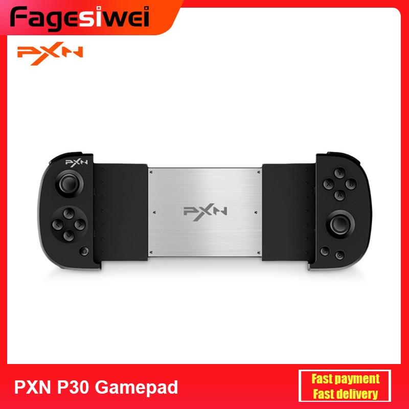 Новейший PXN PXN-P30 беспроводной геймпад Bluetooth игровой контроллер Джойстик держатель телефона для Android iOS