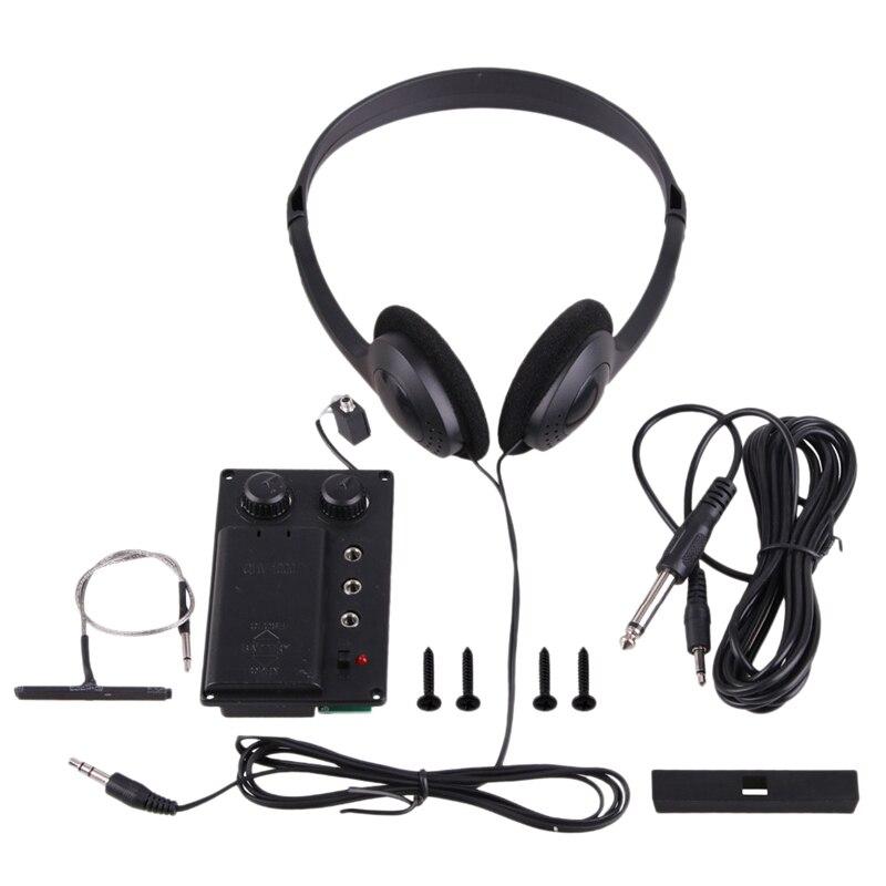 XSXS, accesorios eléctricos para violín, pastilla para violín, ecualizador Eq, pastilla eléctrica para violín