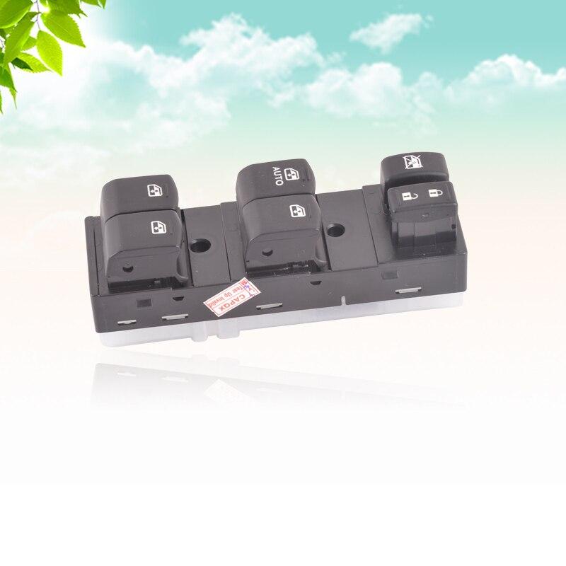 CAPQX para Subaru Forester 2013-2015 Outback 2013-14, interruptor de Control de ventana frontal izquierda, botón principal de ventana eléctrica 83071SG040