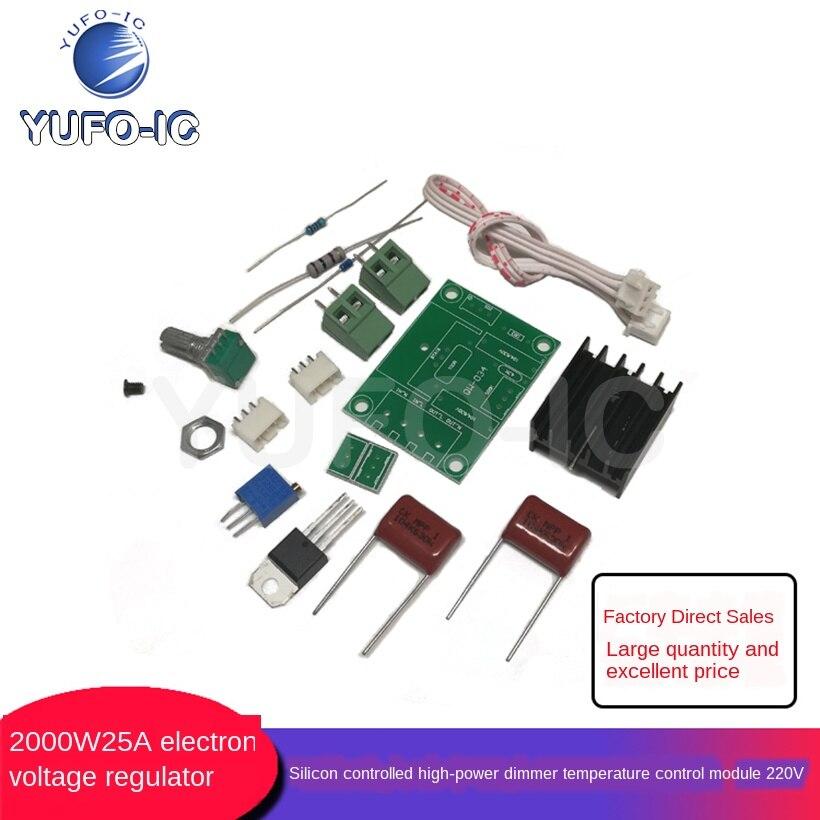 1 Uds espaà a importado tiristor de electrónica de potencia regulador de voltaje oscurecimiento regulador de velocidad confiable edición 2000W 25A
