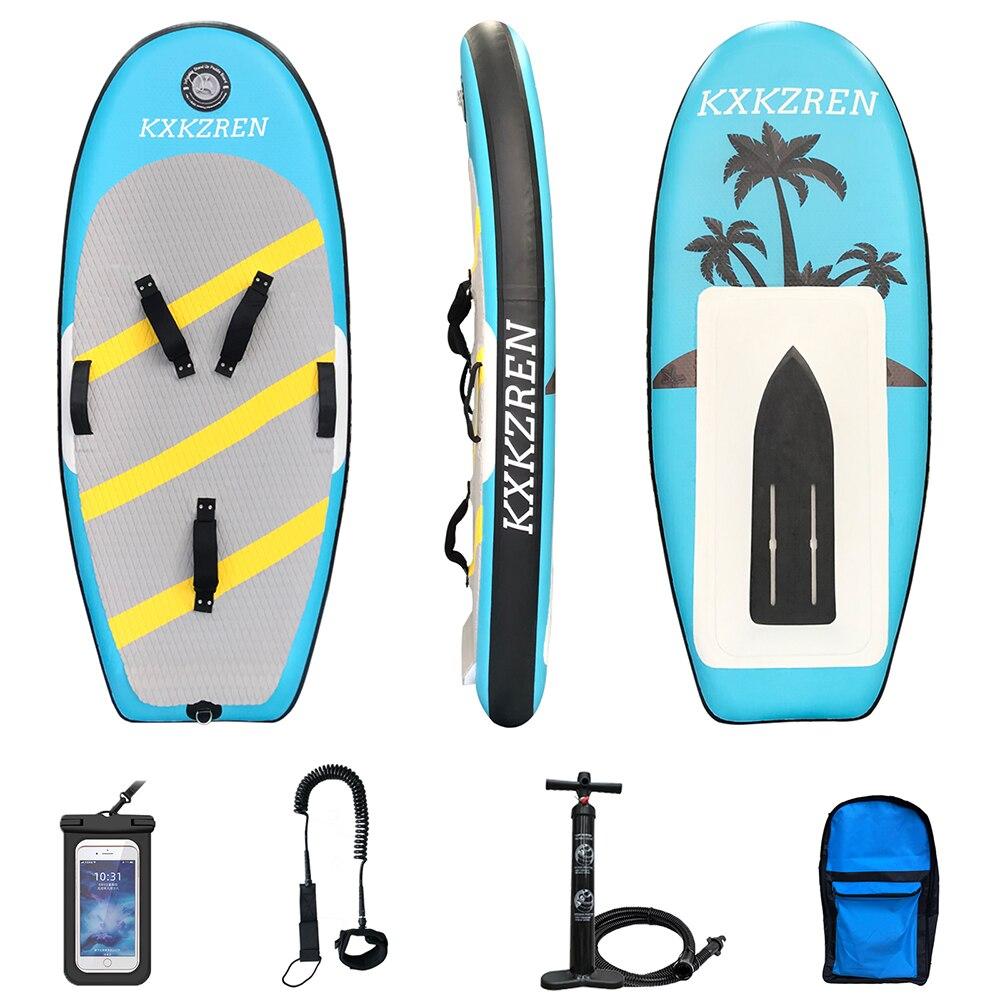 Надувная доска для серфинга, углеродное волокно, гидрофольга, комбинация для начинающих, водный спорт, каяк