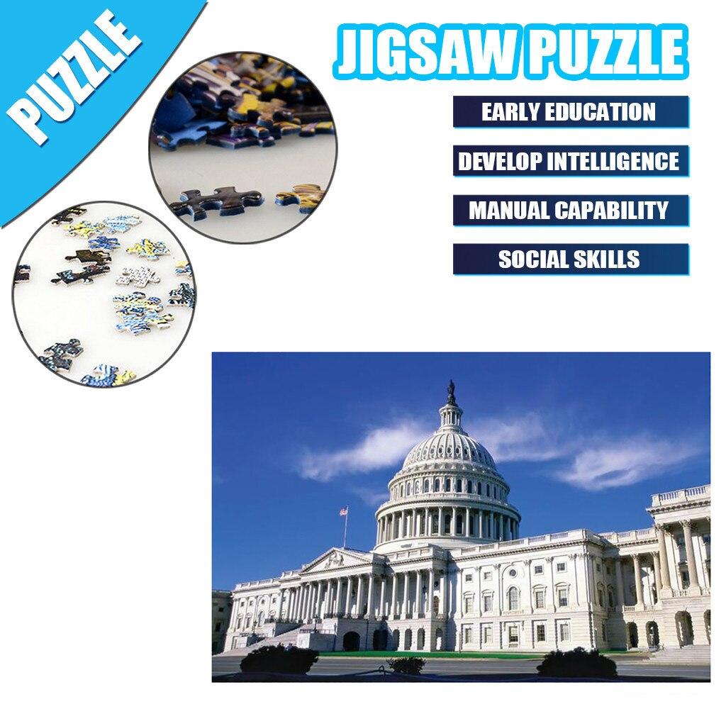 2020 novo adulto quente crianças quebra-cabeça presente do feriado quebra-cabeça brinquedo 1000 pc paisagem padrão quebra-cabeça grande dificuldade