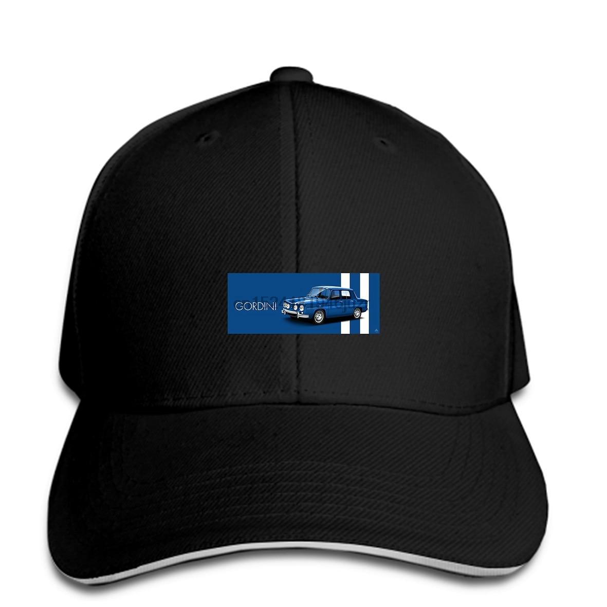 Gorras de béisbol de hip hop gorra impresa personalizada gorra de coche clásico arte de coches Renault 8 Gordini gorra snapback de mujer