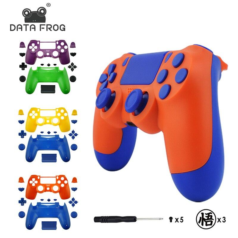 Сменный комплект с полным корпусом и кнопками для jds 040 DualShock 4 PlayStation 4 PS4 Pro Slim аниме тема Корпус чехол