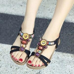 Ladies Sandal Wedge Roman 2021 Woman Height Comfort Sandals Female 2021 Ladies Casual Sandals plus size