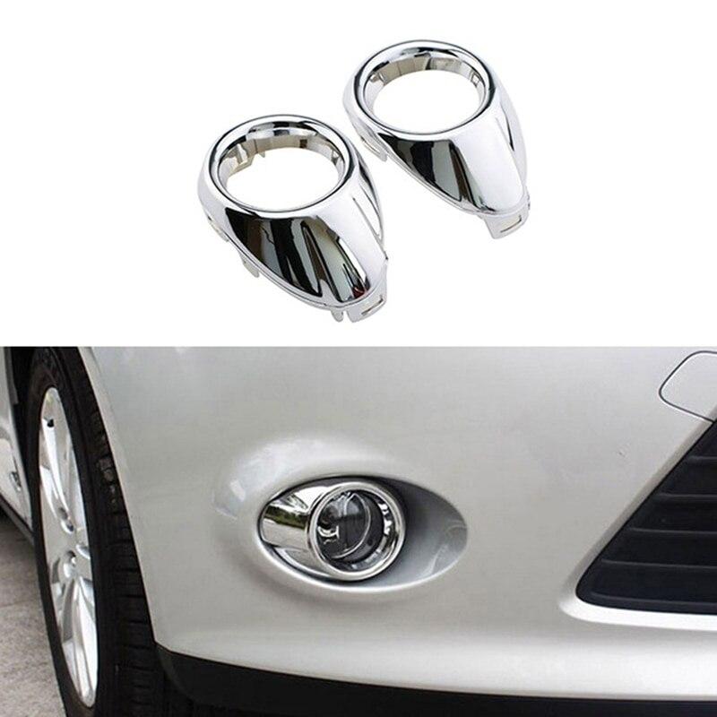 Автомобильный Стайлинг передняя противотуманная фара светильник рамка Модифицированная декоративная крышка для Ford Focus 12-14 лет