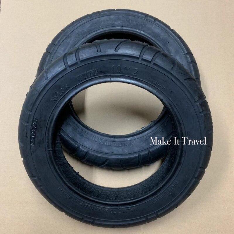 Atualizado pneus para xiaomi m365 pro mais grosso inflação rodas pneu 10 Polegada externo tubo interno pneumático pneu para xiaomi scooter pneu