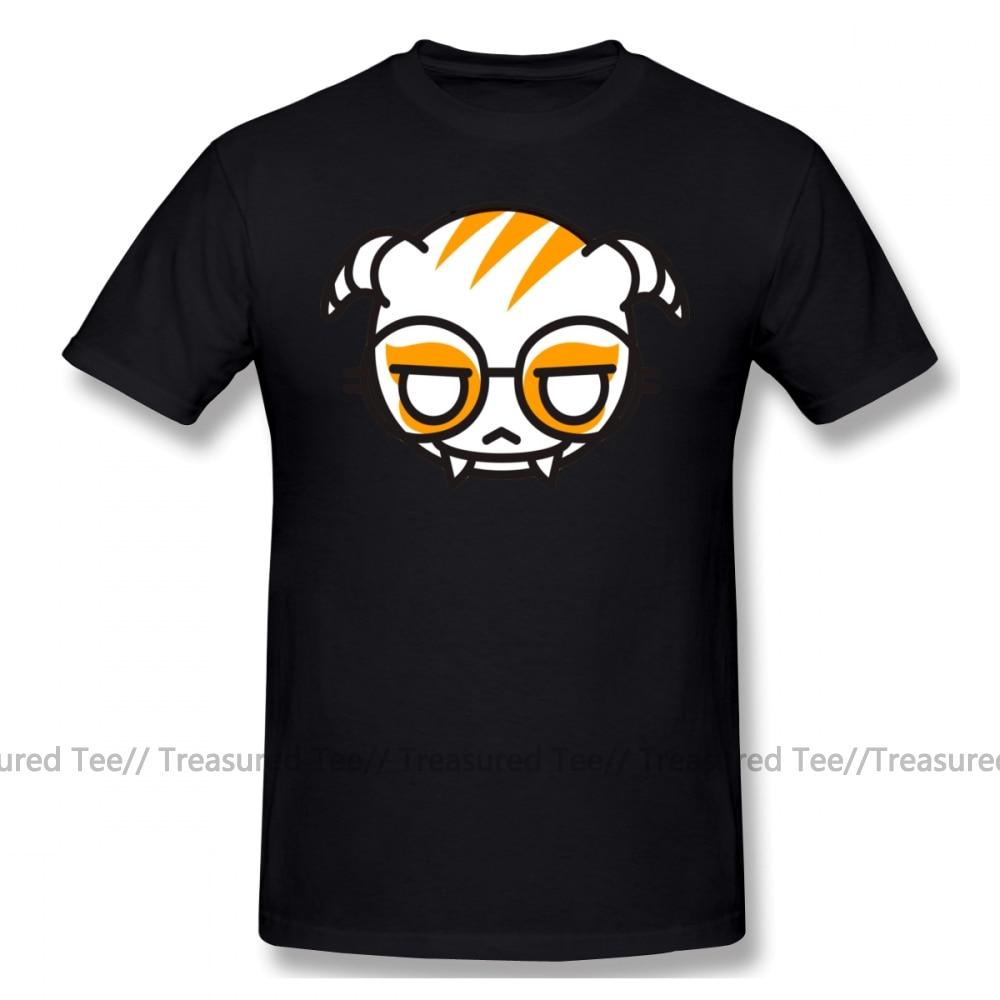 Hacker T Shirt Dokkaebi T-Shirt Print Cotton Tee Shirt Man Fashion Plus size Short-Sleeve Cute Tshirt