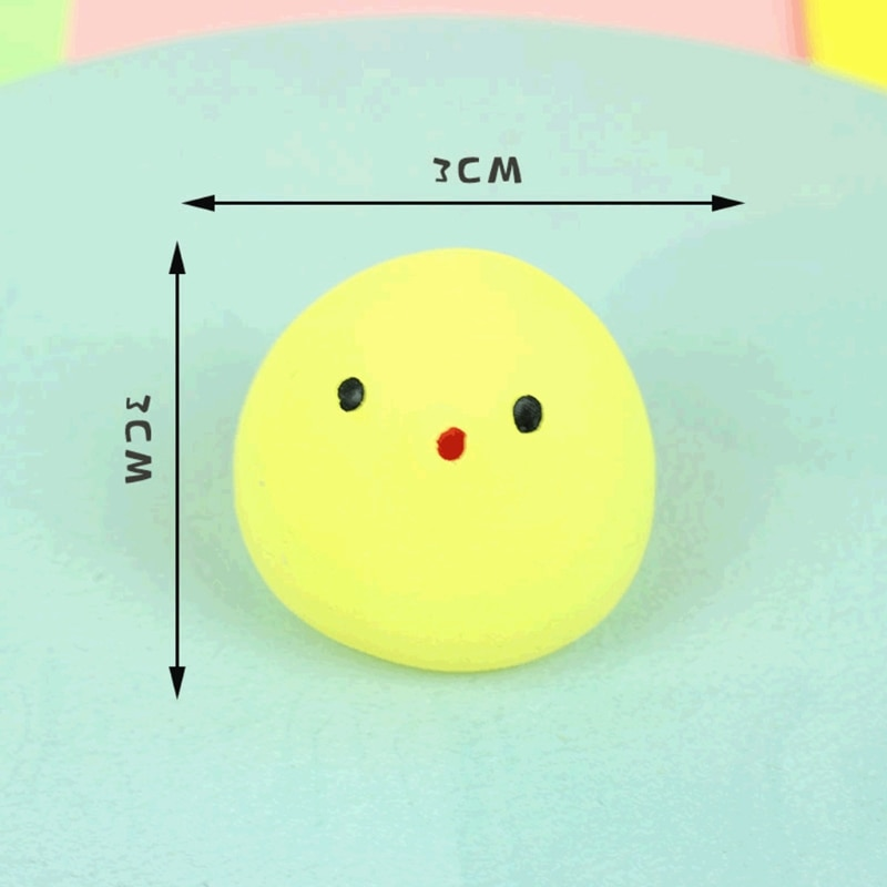 12pcs Mini Cute Animals Squishy Toys Stress Relief Squeeze Squishi Tricky Toy Adults Children Kids Funny Gift enlarge