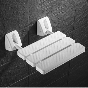 Promotion! Wall Mounted Shower Seat Bathroom Shower Folding Seat Folding Beach Bath Shower Stool Toilet Shower Chair