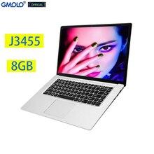 Gmolo 15.6 J3455 Quad Core Gaming Notebook 8 Gb 512 Gb/256 Gb/128G Ssd 15.6 Inch 1920*1080 Ips Hd Scherm Russische Laptop Computer
