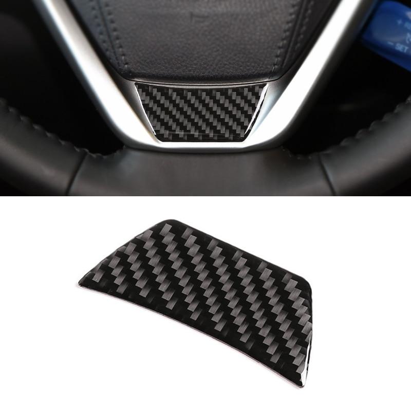 Для Toyota Highlander 2015 2016 2017 2018 Автомобильная панель рулевого колеса из углеродного волокна защитная отделка