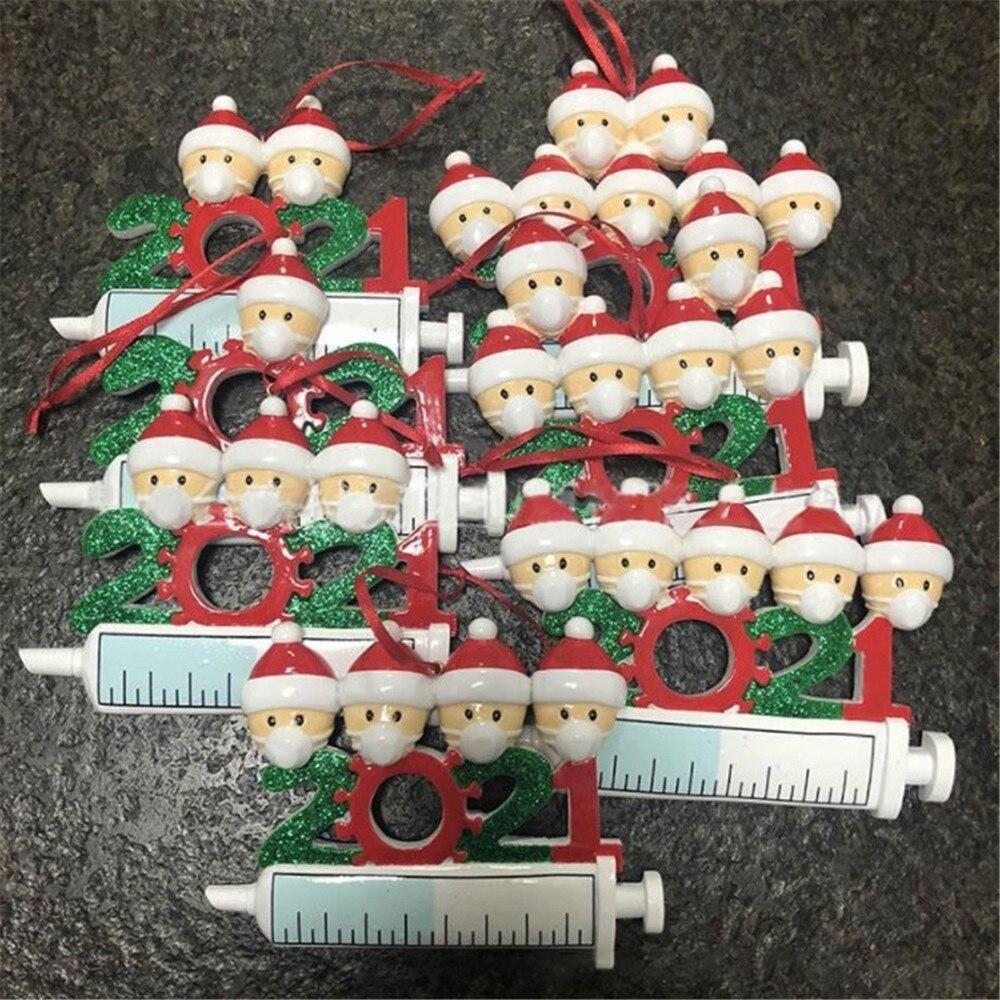 100 قطعة الراتنج زينة عيد الميلاد 2021 المنزل ديكو شجرة عيد الميلاد قلادة الجملة عيد الميلاد تسليم المنزل السنة الجديدة
