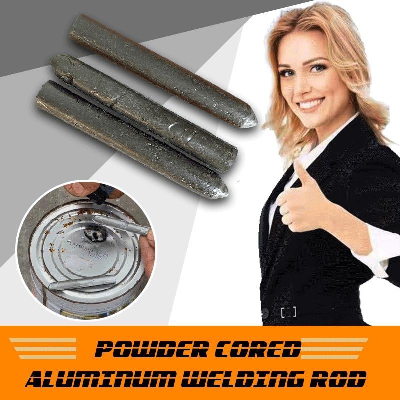 Алюминиевый сварочный стержень с Порошковым сердечником, низкотемпературные легкие плавкие алюминиевые сварочные стержни, не нуждаются в ...