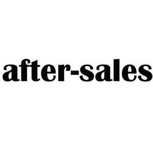 After - sale parts to send a special link