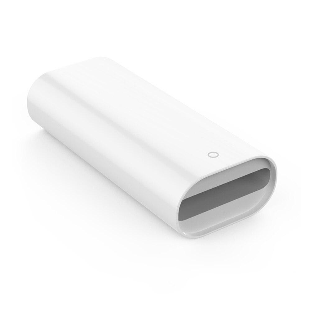 Para Apple lápiz Stylus de carga convertidor adaptador para Ipad Pro de carga de línea de datos adaptador de hembra a hembra cargador de accesorios