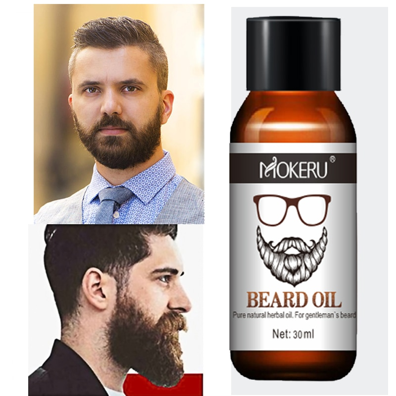 AliExpress - Hot Sales 100% Natural Organic Men Beard Growth Oil Products Hair Loss Treatment Conditioner For Groomed Fast Beard Growth 30ml